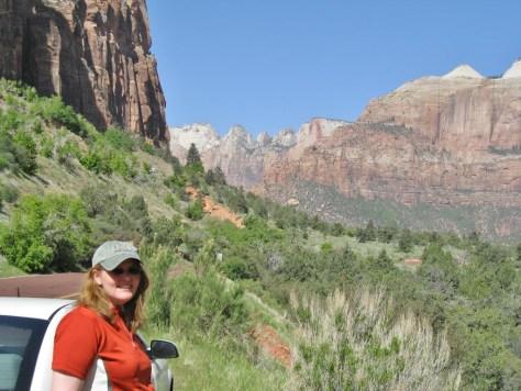 Ausblick auf den Zion Canyon