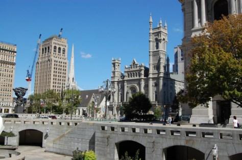 Die Gegend um die City Hall