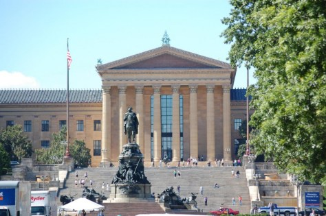 Museum of Art - Die meisten Besucher kommen aber wegen der Treppe