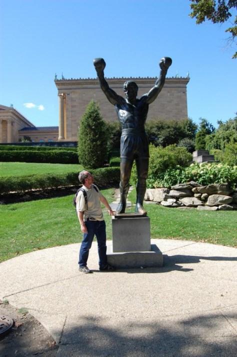 Rocky und sein Konkurrent