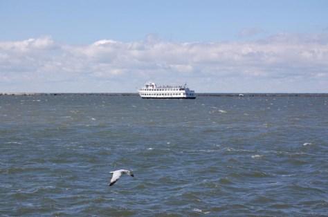 Das ist kein Meer - das ist einer der 5 großen Seen Nordamerikas: Der Eriesee
