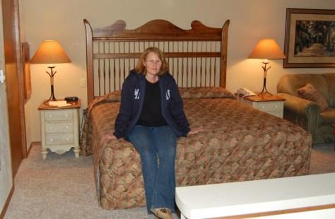 Unser Hotelzimmer im Bridgeport Resort