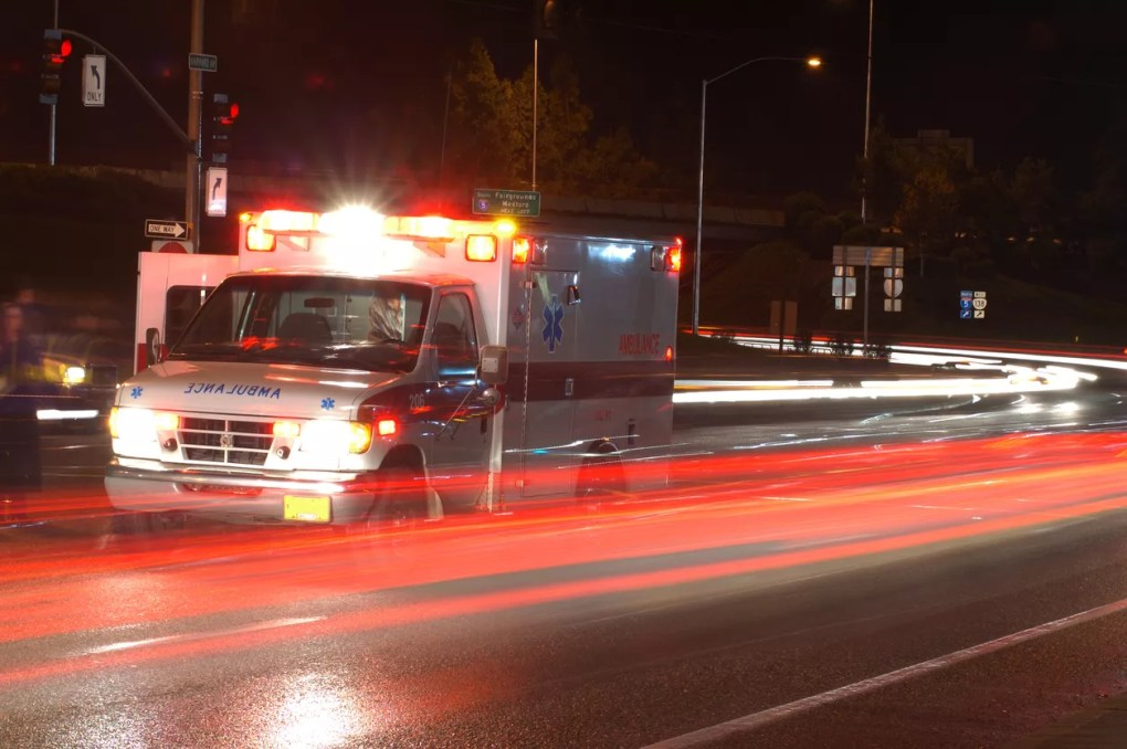 One Hospitalized after Two-Vehicle Accident on Hillsborough Parkway at Newhall Ranch Road [Santa Clarita, CA]