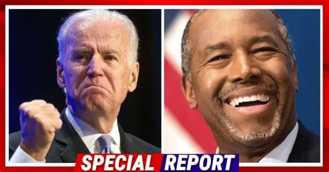 Ben Carson Drops Load Of Bricks On Washington Swamp – On Live TV He Spotlights Biden Trying To Drive 'Stakes of Division'