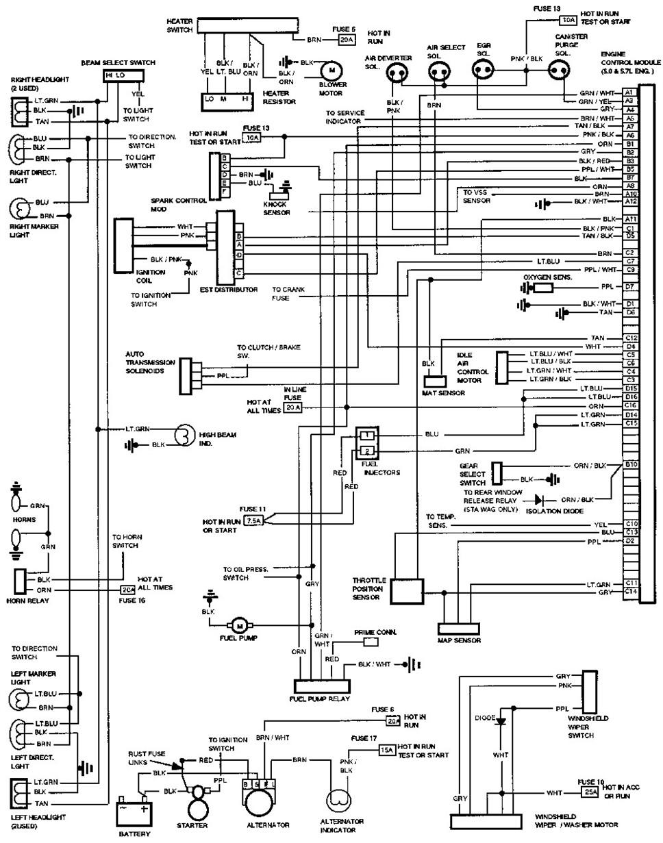 freightliner century fuse box schematic