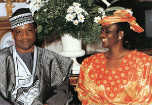 Maryam Babangida buried, following cancer-related death in Los Angeles