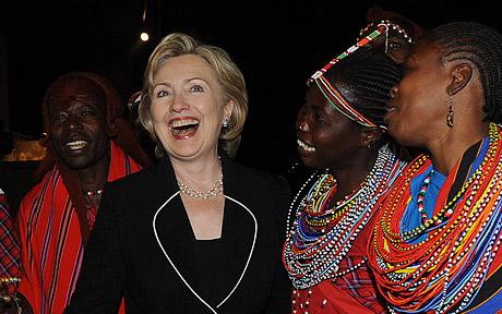 Hillary Clinton in Africa on six-nation tour, including South Sudan, Senegal, South Africa