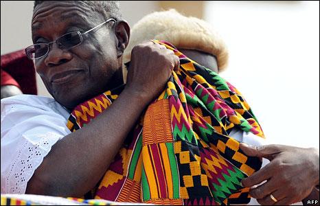 Ghana buries its late President John Atta Mills; millions mourn
