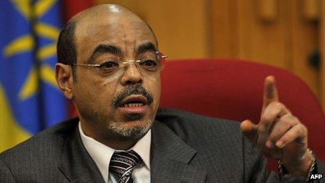 September 2 set burial for Ethiopia's Prime Minister Meles Zenawi