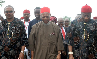 USAfrica: Orient Petroleum oil field, parts of Aguleri submerged by flood; Obiano calls for