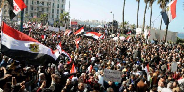 Egypt protests turn violent at Tahrir Square on revolution's anniversary