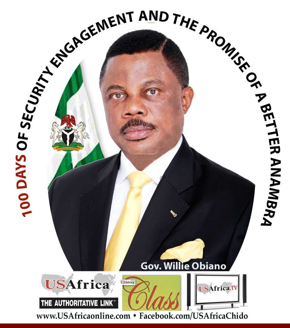 Obiano: My 100 days in office