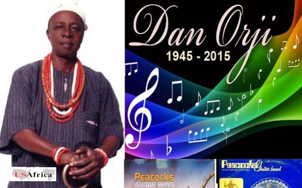 USAfrica: A Tribute to Dan Orji of Peacocks.  By Mazi E.A.C Orji