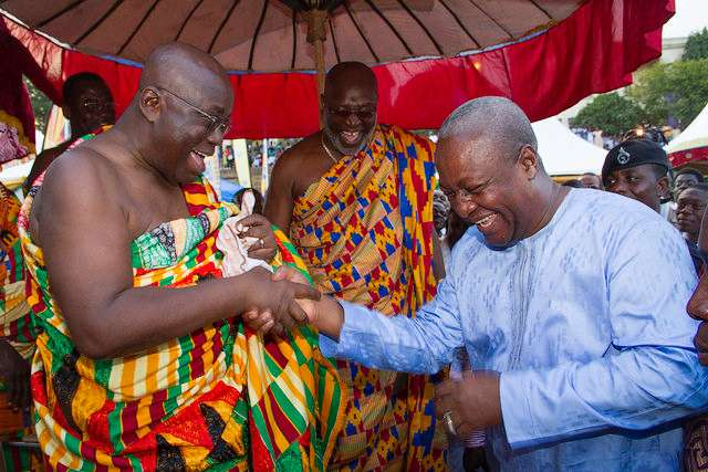 USAfrica: Ghana President Mahama accepts election defeat with dignity
