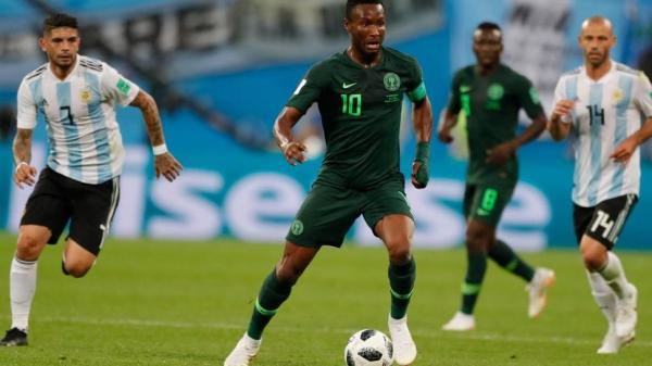 Nigeria captain Obi Mikel told 4 hours before World Cup game against Argentina his father was kidnapped