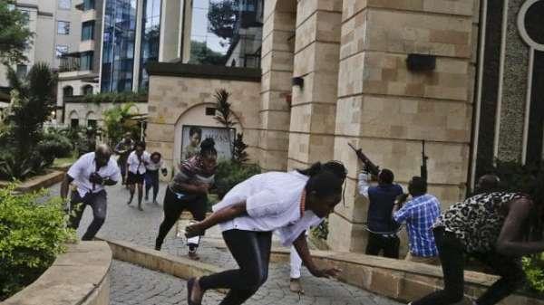 #BrkNEWS: 12 killed as al-Shabaab TERRORISTS bomb, gun rampage Nairobi hotel