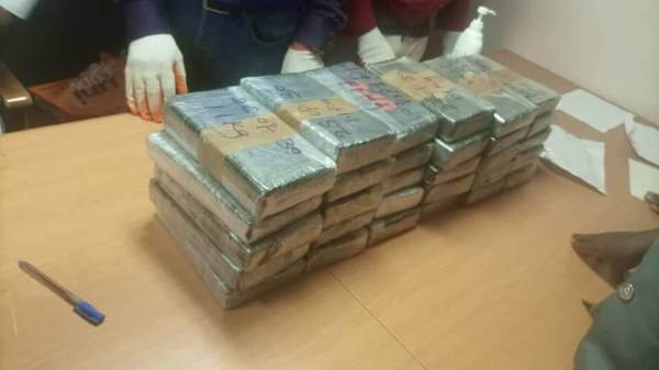 Cocaine aboard a bulker sailing in Nigerian waters seized by Nigerian Navy