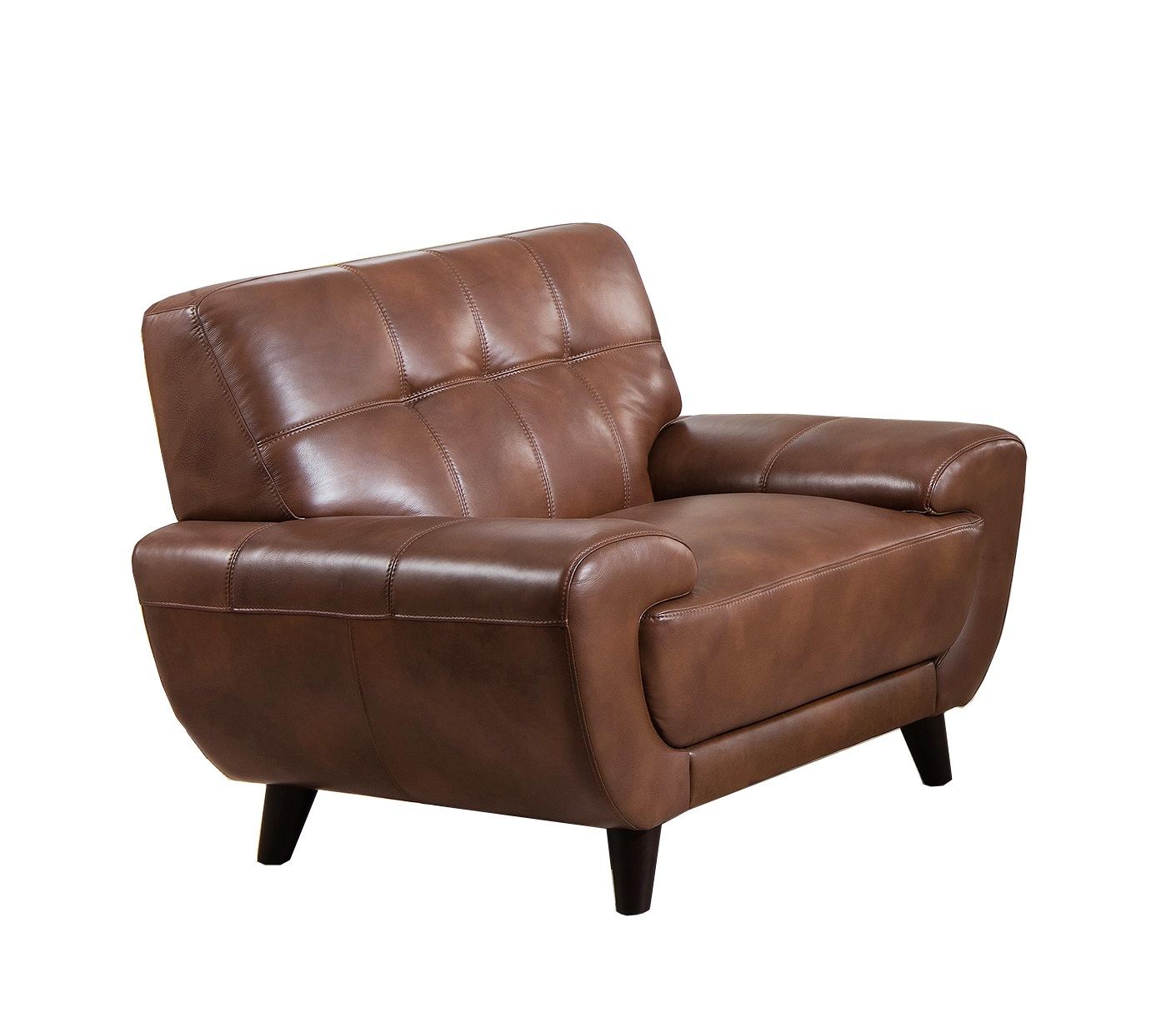 Best Leather Chairs Jane Furniture Nicole Top Grain Brown Leather Chair Usa