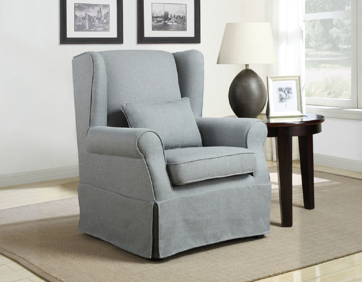 Grey Accent Chairs Homelegance Grey Accent Chair