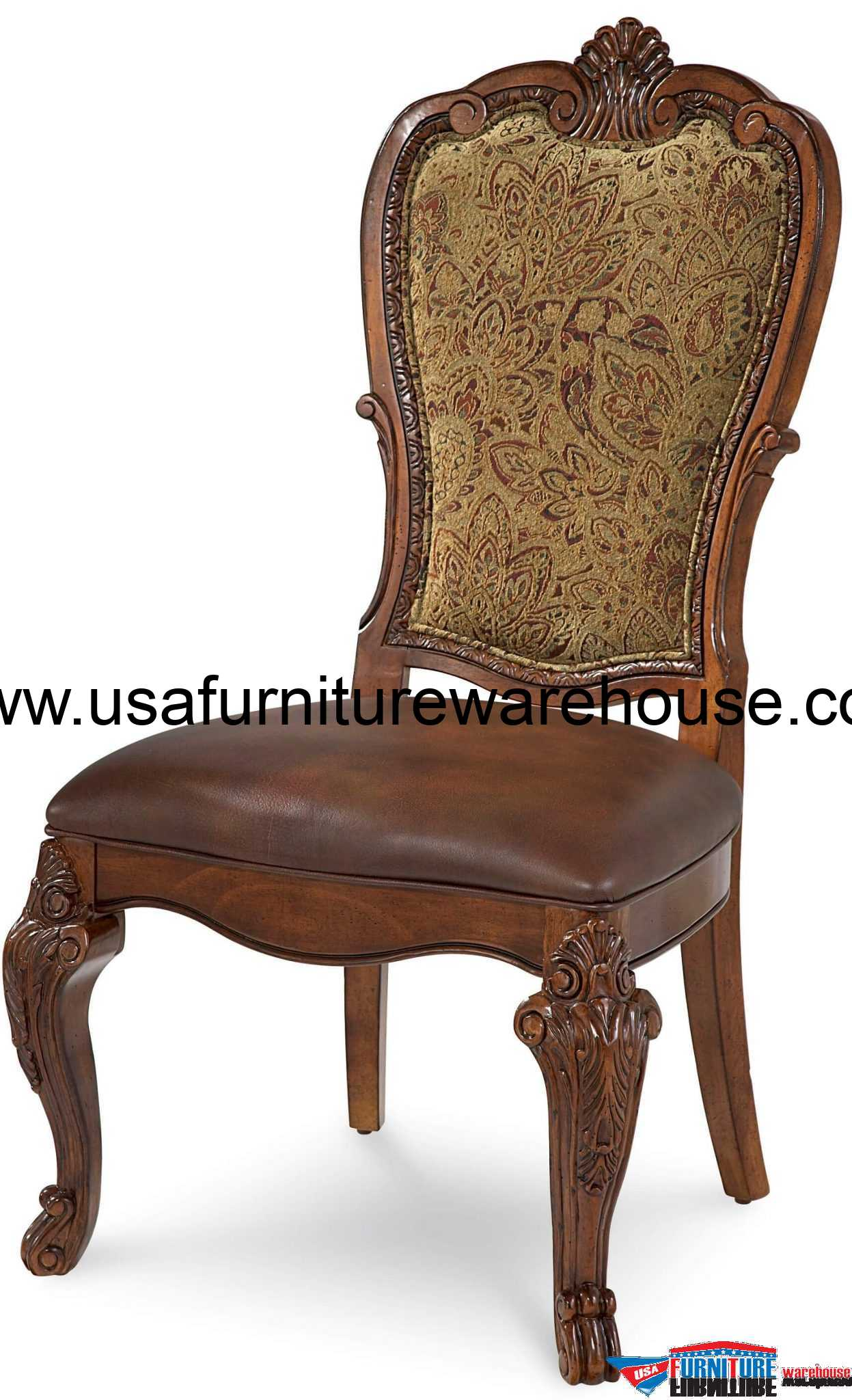 Dining Side Chairs A R T Furniture Old World Upholstered Dining Side Chair
