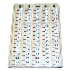 Bingo Shutter Master Boards