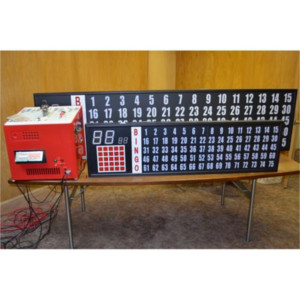 Flashboard Deluxe With 3.25 Inch Numbers