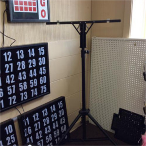 Flashboard Stand For Use With Electronic Flashboard