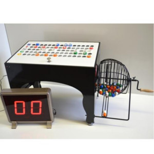 Deluxe Speedy Electronic Bingo Machine