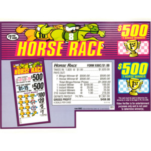 Horse Race (1,820 Count)