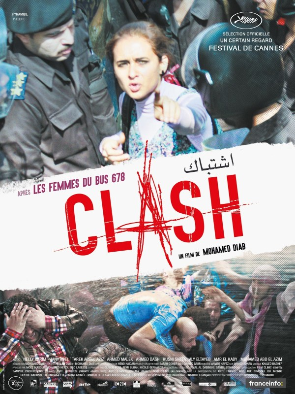 Affiche du film Clash de Mohamed Diab