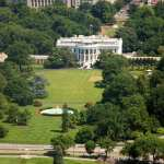 WHITE HOUSE AREAL VIEW