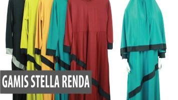 Gamis Stella Renda
