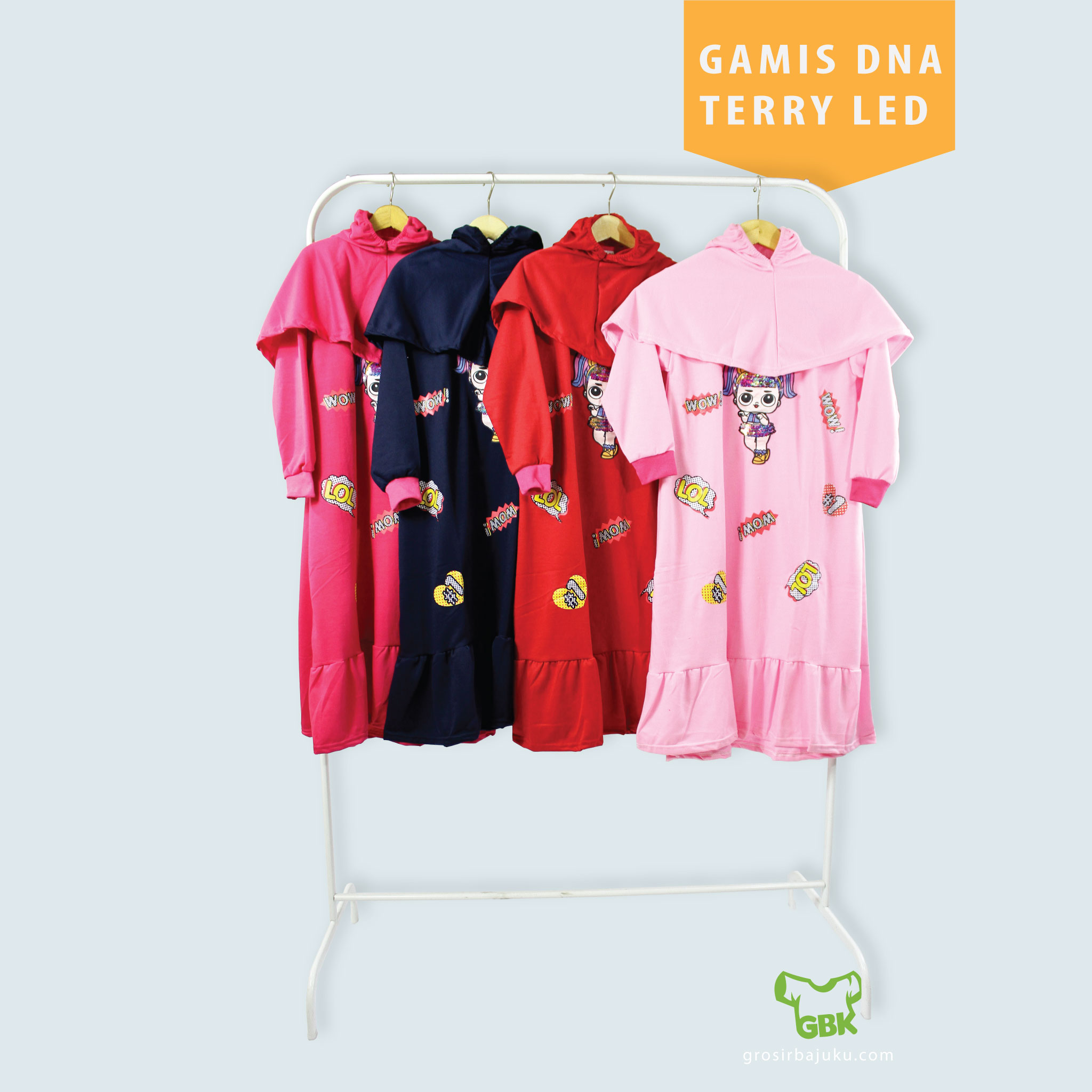Gamis DNA Terry LED