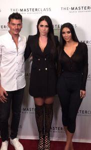 Kim Kardashian Le Celine lashes