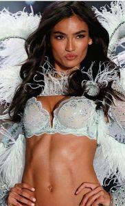 Victoria Secret Models Le Celine Lashes