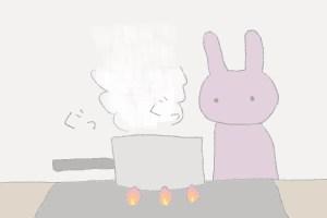 【14】初めての生ラーメン作り〜うさこのもやしラーメン