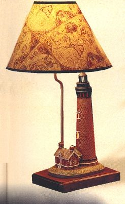 Lighthouse and Nautical Ships Lantern Lamps