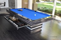 Dining Pool Table : Modern Pool Tables : Contemporary Pool ...