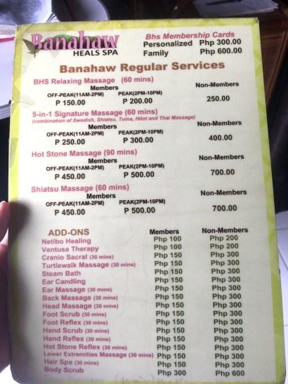【フィリピンのエステ】格安・激安、そのお値段はいくら?Spa(スパ)が最高すぎる件。