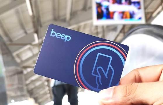 フィリピンの電車(MRT/LRT)のbeep card