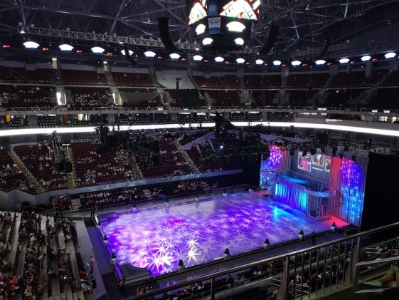 Disney on ice in Mall of Asia ARENAの会場全体