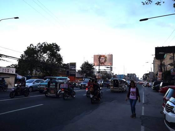 フィリピンアンヘルスの街並み