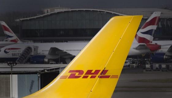 国際宅配便のDHL