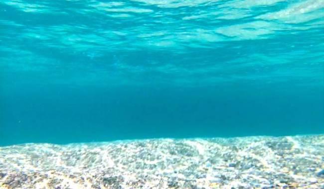 プエルトガレラのアイランドホッピング、最後のビーチ