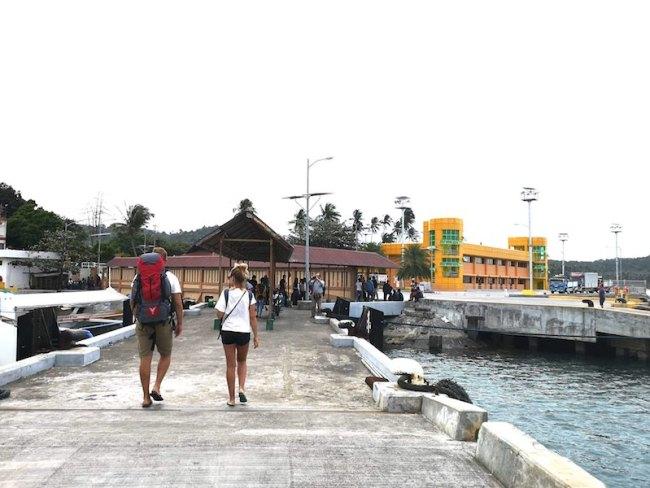 プエルトガレラの港