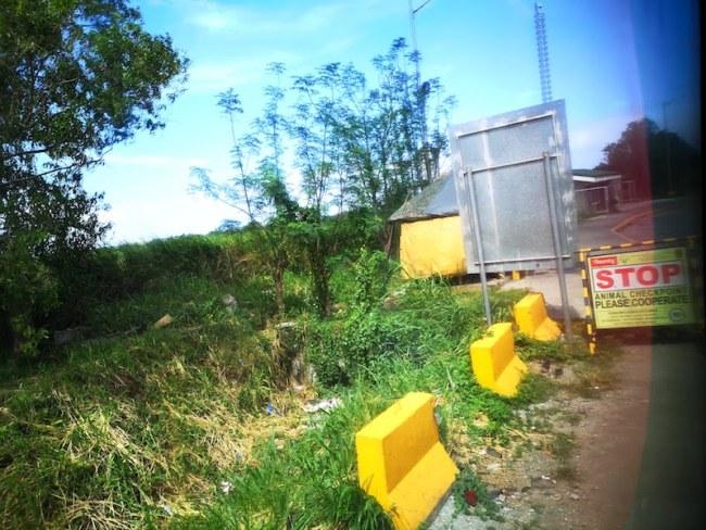 フィリピンの高速のトイレ休憩