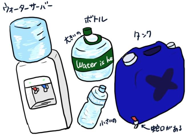 うさみフィリピンの飲料水