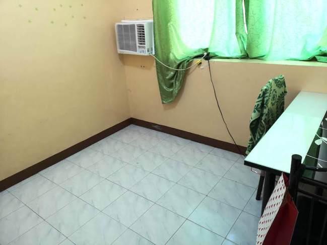 フィリピン田舎の家の一部屋