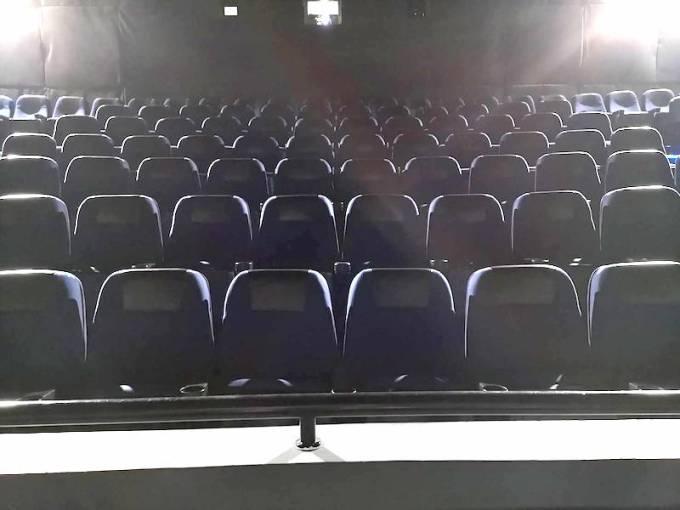 フィリピンの映画館の中