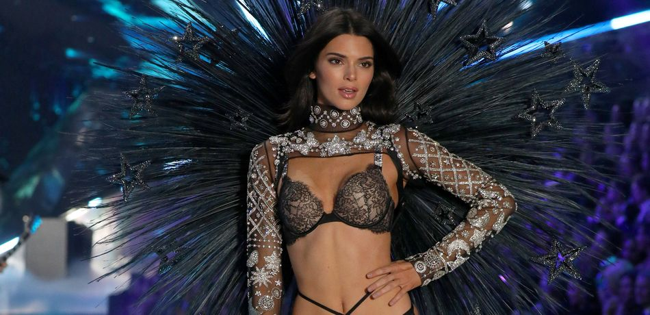 Kendall Jenner at the VS Fashion Show